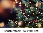 Stock photo christmas tree 521981425