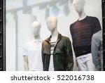 Male Mannequins In The Store...
