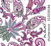 seamless  pattern with... | Shutterstock .eps vector #522028186