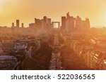 view of la defense district... | Shutterstock . vector #522036565