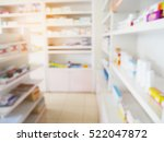 pharmacy store with blur... | Shutterstock . vector #522047872