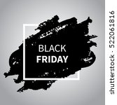 black friday sale design... | Shutterstock .eps vector #522061816