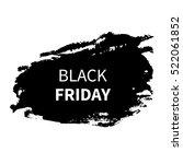 black friday sale design...   Shutterstock .eps vector #522061852