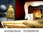 table background in home... | Shutterstock . vector #522064618