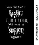 when the time is right  i the...   Shutterstock .eps vector #522069655