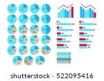 vector infographics 5 to 95...   Shutterstock .eps vector #522095416