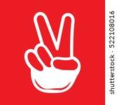 hint finger icon vector... | Shutterstock .eps vector #522108016