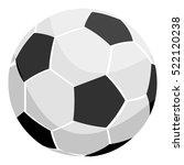 football icon monochrome....