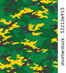 fashionable camouflage pattern  ... | Shutterstock .eps vector #522136915