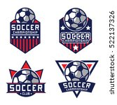 soccer logo  america logo | Shutterstock .eps vector #522137326