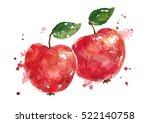apples | Shutterstock . vector #522140758