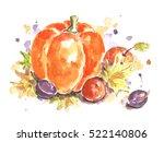pumpkin   Shutterstock . vector #522140806