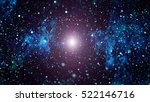 starry outer space  | Shutterstock . vector #522146716