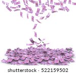 Stock photo indian rupee currency note 522159502