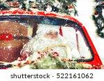 portrait of santa claus. santa... | Shutterstock . vector #522161062