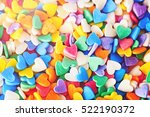 Heap Of Colorful Heart Shaped...