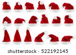 big set collection of red white ...   Shutterstock . vector #522192145