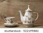 Antique Porcelain Tea And...
