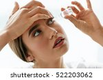 vision and ophthalmology... | Shutterstock . vector #522203062