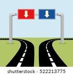 Decision Concept Road Signs ...