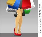 design concept  vector... | Shutterstock .eps vector #522241396