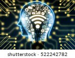 internet of things  iot  and... | Shutterstock . vector #522242782