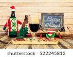 christmas beer tasting | Shutterstock . vector #522245812