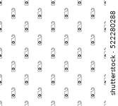 do not disturb sign pattern.... | Shutterstock . vector #522280288