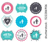 label and badge templates. one... | Shutterstock . vector #522286906