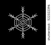 snowflake snow christmas new... | Shutterstock .eps vector #522322396