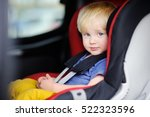 portrait of cute toddler boy... | Shutterstock . vector #522323596