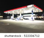 oil station at night  abstract... | Shutterstock . vector #522336712