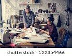 creative design dress fashion... | Shutterstock . vector #522354466