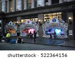 people watching macy's holiday... | Shutterstock . vector #522364156