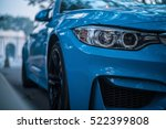 Small photo of BEIJING - NOV 20, 2016: BMW M4 Coupe (F82), a high-performance version of BMW 4-series tuned by BMW's M division and the successor of the highly successful E92 M3 coupe.