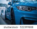 beijing   nov 20  2016  bmw m4... | Shutterstock . vector #522399808
