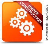 under construction  gears icon  ... | Shutterstock . vector #522406078