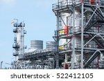 oil refinery plant   Shutterstock . vector #522412105