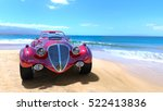 3d cg rendering of a sports car | Shutterstock . vector #522413836