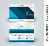 brochure mock up design... | Shutterstock .eps vector #522416815