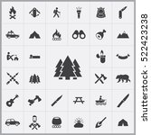 forest icon. camping icons... | Shutterstock .eps vector #522423238
