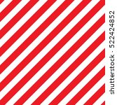 red diagonal lines seamless... | Shutterstock .eps vector #522424852