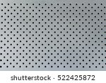 metal plate with holes use for... | Shutterstock . vector #522425872