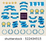 vector collection of decorative ... | Shutterstock .eps vector #522434515