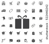 gift icon. universal shop set... | Shutterstock .eps vector #522440242