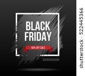 black friday. sale   shopping...   Shutterstock .eps vector #522445366