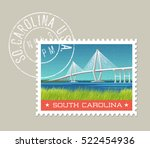 south carolina postage stamp...