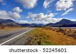 empty road in new zealand   Shutterstock . vector #52245601