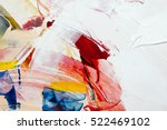 painted abstract background | Shutterstock . vector #522469102