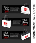 abstract vector black friday... | Shutterstock .eps vector #522470548